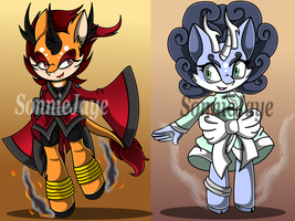 Jin and Ming Dynasty Qilin Adoptables: CLOSED! by SonnieJaye