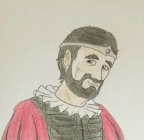 Character sketches - King Edmund by Grendelkin