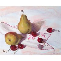 Still life painting by Hussainalbnnay