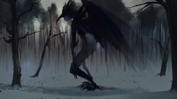 Death living in the woods by vicious-mongrel