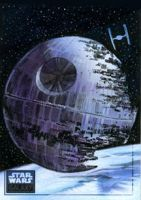 Star Wars Death Star by SteveStanleyArt