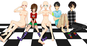 [OPEN] Genderbend Collab by Caitie-chan