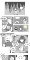 Frisk and Chara - Ch 4: Pg 9 by ArtisticAnimal101