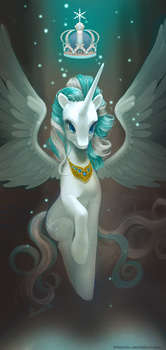 MLP FIM: Snowdrop - should have been a princess by hinoraito