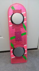 bottom of my back to the future 2 hoverboard by RussellMGoodwin