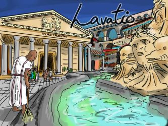 Lavatio (27 March) by LauraSeabrook