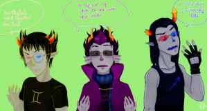 Homestuck::Switching Glasses by dan-nippon13