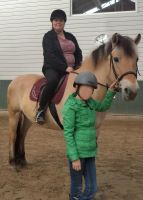 Me  on a horse! by Louvan