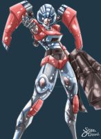 Commission Arcee by Sean-Loco-ODonnell