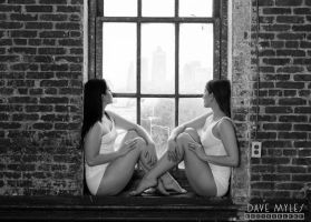 Mary Celest and Holly Rogue by DaveMylesPhotography