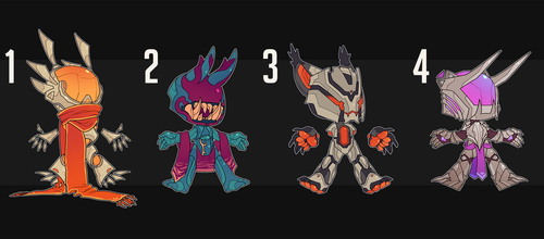 Robot chibi adopts CLOSED by SithLordDeneray