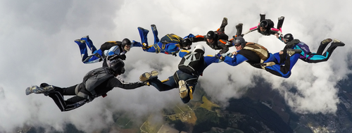 8 way Skydive by Hyperion54