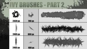 Ivy Brushes Part 2 by black-Box  by Black-B-o-x