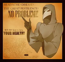 SCP-049 Poster by Retortpouch-2015