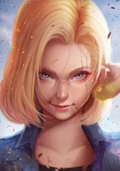 Android 18 Lazuli by magion02