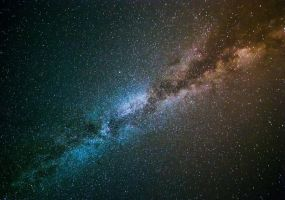 The Milky Way on a Dark Night by TPextonPhotography