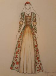 history costume by Iva2494