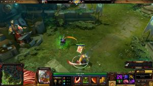 Kendo House Juggernaut HUD Updated - Dota 2 by Silver-Fate
