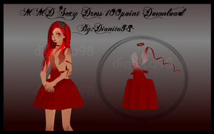MMD Sexy Dress 100Points Download by dianita98