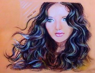 GIRL - SOFT PASTELS by UtiliaMignano
