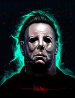 Michael Myers by KevinMonje
