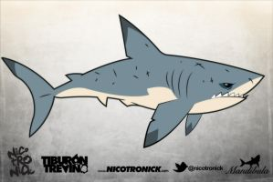 Shark by nicotronick