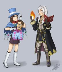 The Tactician and the Magician by StarWolf597