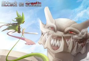 Attack on Steelix