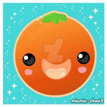 kawaii orange by miemie-chan3