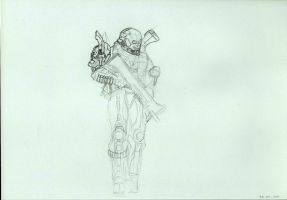 Emile -rough sketch- unfinished by Anythingguy