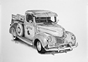 1941-Ford-Pickup-Truck by Daniel-Storm