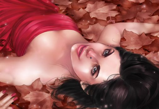 Lay down to autumn by cynthi-dm
