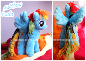 + Dashie Plushie + by Kamisia