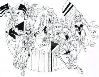 Teen Titans by CarloGarde