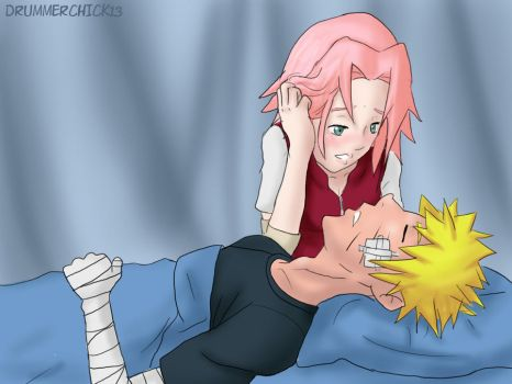 narusaku-hidden feelings by drummerchick13