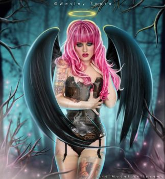 Lost Angel in The Darkness by Wesley-Souza