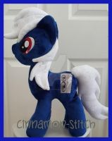 mlp plushie commission OC Sound Energy by CINNAMON-STITCH