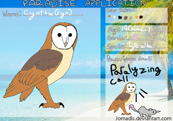 Paradise Prison Application by peril-clay