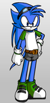 Jacob Coad (Sonic Riders Style) by JacobDSArt