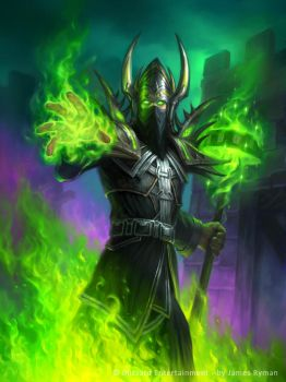 Archmage Arugal for Hearthstone: The Witchwood by namesjames