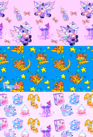 Neopet Pixel Backgrounds by MoggieDelight