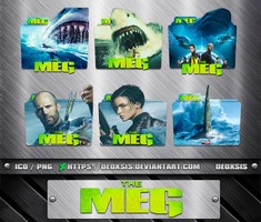 The Meg [2018] Folder Icon Pack by deoxsis