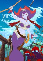WIP - Risky Boots, Pirate Queen BG part 2 by ADSouto