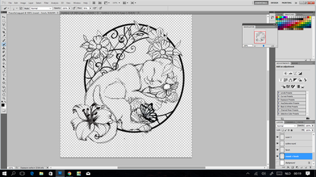 Dreaming of Paradise ~ Embroidery WIP by CyanFox3