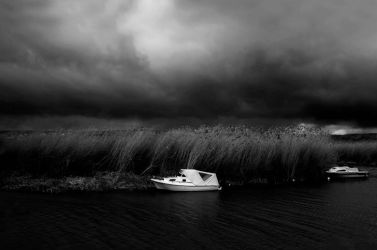 Boat On The River by CanDaN