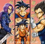 Dragon Ball Bookmarks by reactormako