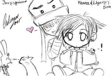 PANDECT Fleance and Edgar by gukimon