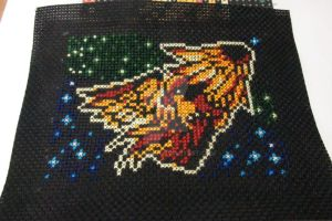 Pigeot cross stitch by cainslove