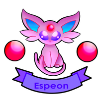 - Espeon - by ChimeraCaptor