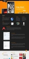 Stage: Features+portfolio page by crazyclouds